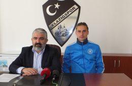 Basın Sözcümüz Av. Cengiz Gülaç ve Futbolcumuz Erman Bulucu Basın Toplantısı Düzenledi
