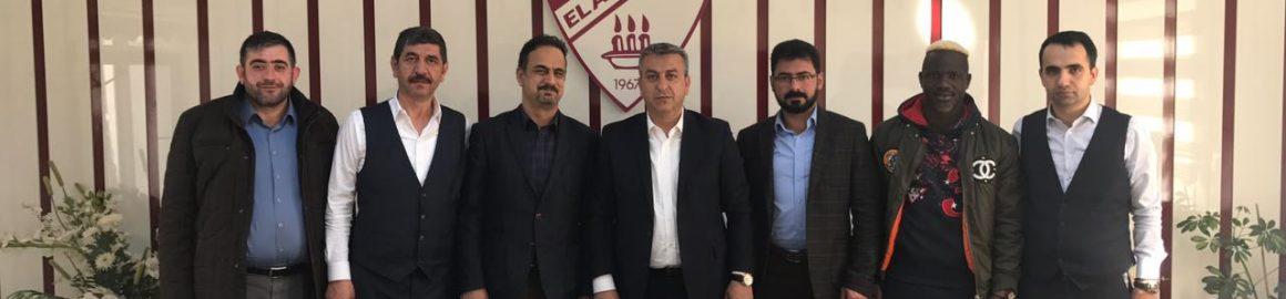 Elazığ Medical Park Hastanesi Başhekimi Mahmut Yıldız'dan Kulübümüze Ziyaret