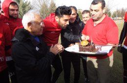 Futbolcumuz Ahmet Aras'ın Doğum Günü Kutlandı